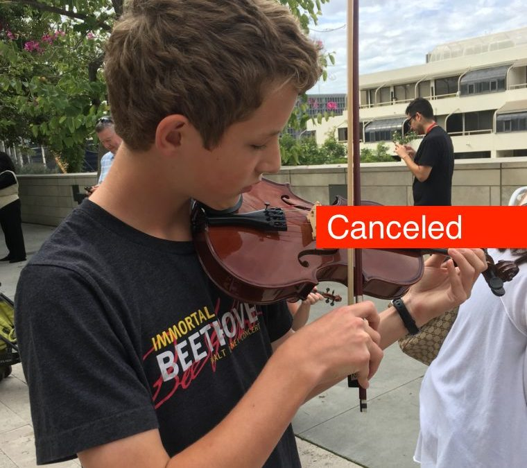 CANCELED / Invited Rehearsal / Norman Prokoviev LA Phil