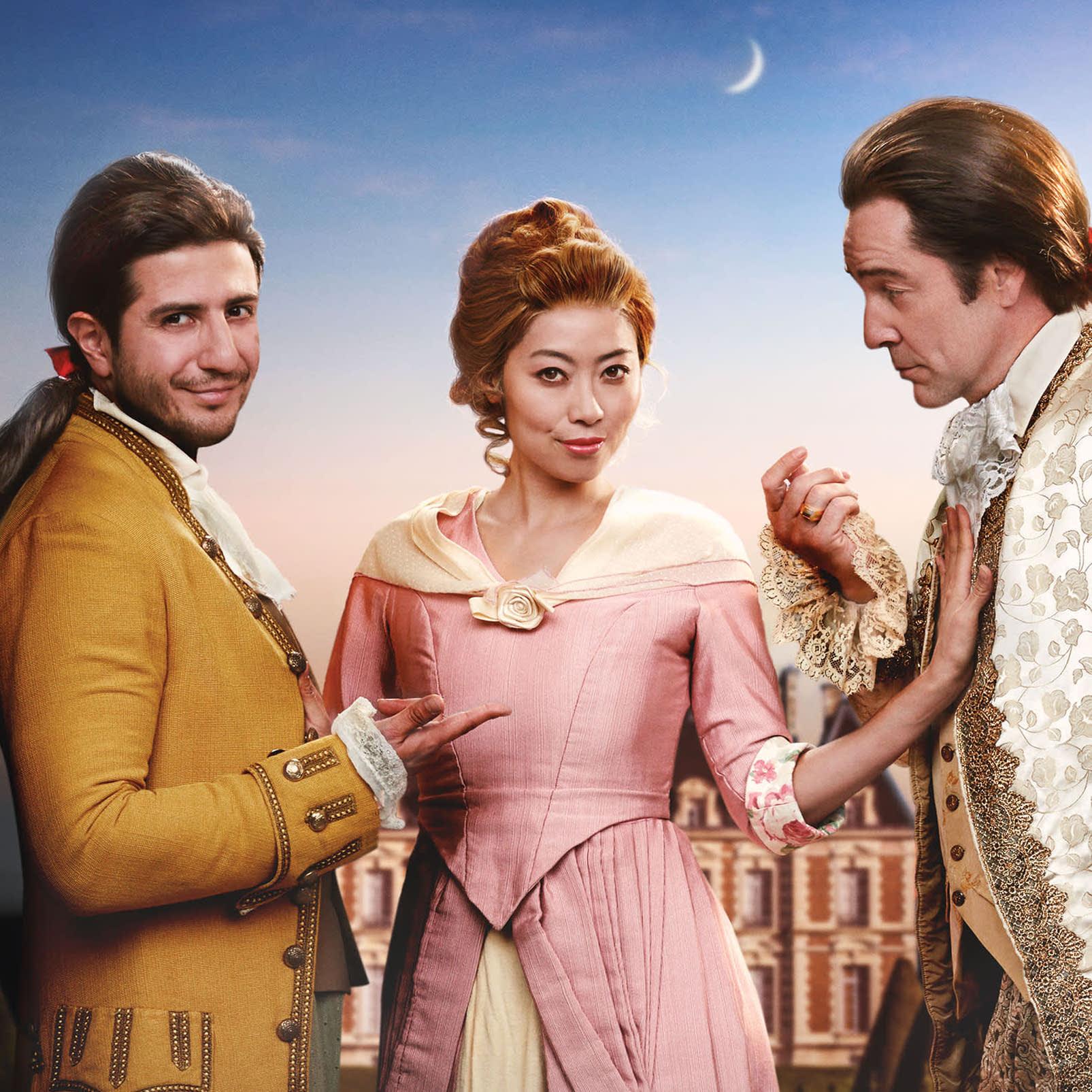 The 3 Lead Characters_LA Opera Marriage of Figaro