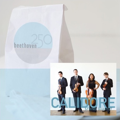 FB Live-stream Lunch / Beethoven & Calidore Quartet