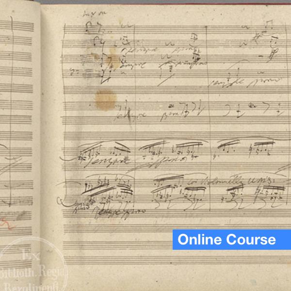 Handwritten Beethoven Original Score
