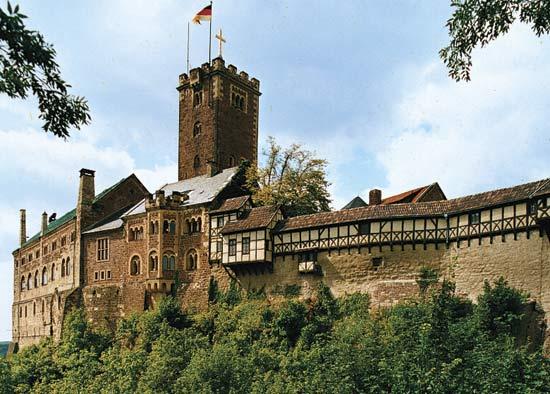 Photo of Wartburg Castle in Germany