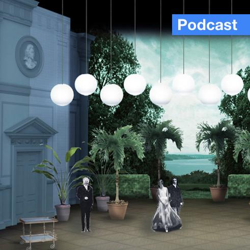Set design for San Francisco Opera's Cosi Fan Tutti production